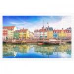 Puzzle en Plastique - Old Nyhavn Port in Copenhagen