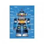 Puzzle en Plastique - Robot