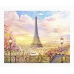 Puzzle en Plastique - Romantic Paris