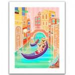 Puzzle en Plastique - Romantic Vacations - Venice
