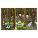 Puzzle en Plastique - SMART - Polar Bears in the Forest