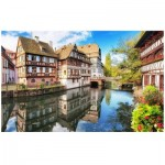 Puzzle en Plastique - Strasbourg, Petite France