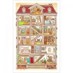 Puzzle en Plastique - Sweet Home