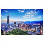 Puzzle en Plastique - The Beautiful Sunset of Taipei