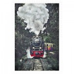 Puzzle en Plastique - The Steam Train, Switzerland