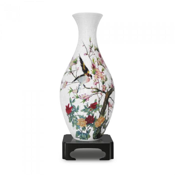 Puzzle 3D Vase : Le chant des oiseaux et Fleurs odorantes