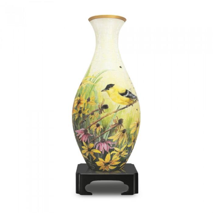 Puzzle 3D Vase - Chardonnerets