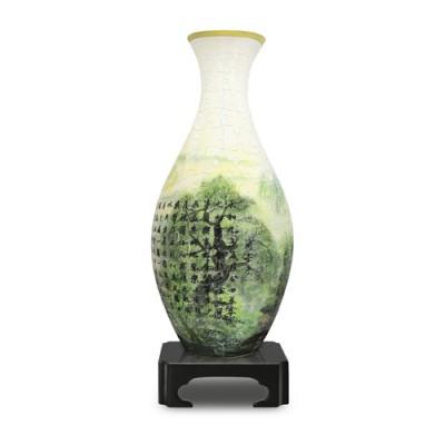 Pintoo-S1005 Puzzle 3D Vase - Lan Ting Xu