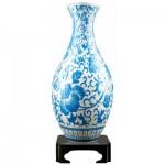 Pintoo-S1012 Puzzle 3D Vase - Ornement Floral Oriental