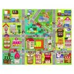 Pintoo-T1015 Puzzle en Plastique - Cute Street Map