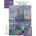 Puzzle  Pomegranate-AA1033 Maximilien Luce - Notre-Dame