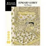 Puzzle  Pomegranate-AA1068 Edward Gorey - Cat Fancy
