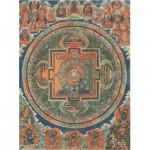 Puzzle  Pomegranate-AA257 Mandala de la déesse  à la glorieuse ombrelle blanche