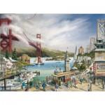 Puzzle  Pomegranate-AA677 Larry A. Wilson : Esprit de San Francisco
