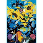 Puzzle  Pomegranate-AA680 Charley Harper : Le récif corallien