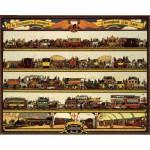 Puzzle  Pomegranate-AA735 Richard T. Cooper : Les transports Londoniens à travers les âges