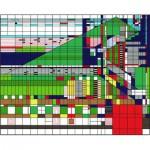 Puzzle  Pomegranate-AA760 Frank Lloyd Wright : Hillside Theater Curtain