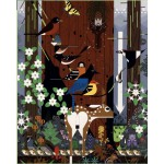 Puzzle  Pomegranate-AA775 Charley Harper : The Sierra Range