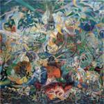 Puzzle  Pomegranate-AA808 Joseph Stella : Bataille des Lumières, Coney Island