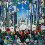 Puzzle  Pomegranate-AA809 Joseph Stella : Fleurs, Italie