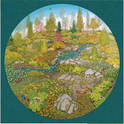Puzzle Pomegranate-AA810 Bill Martin : Jardin de la vie