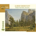 Puzzle   Albert Bierstadt - Bridal Veil Falls, Yosemite Valley, California