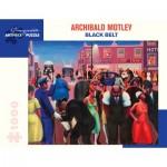 Puzzle   Archibald J. Motley Jr. - Black Belt, 1934