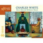 Puzzle   Charles White - Mary McLeod Bethune, 1978