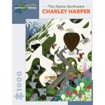 Puzzle   Charley Harper - The Alpine Northwest