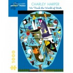 Puzzle   Charley Harper - We Think the World of Birds