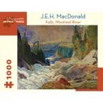 Puzzle   J.E.H. MacDonald - Falls, Montreal River, 1920