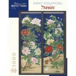 Puzzle   Kano Yoshinobu - Pivoines