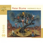 Puzzle   Peter Blume - Hadrian's Villa, 1958