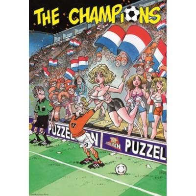 Puzzle PuzzelMan-025 Les Champions : Oups !