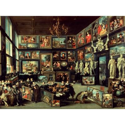 Puzzle PuzzelMan-063 Collection Rijksmuseum Amsterdam - Willem Van Haecht : La Galerie d'Art