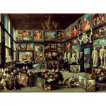 Puzzle  PuzzelMan-063 Collection Rijksmuseum Amsterdam - Willem Van Haecht : La Galerie d'Art