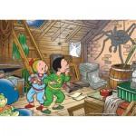 Puzzle  PuzzelMan-083 Bob et Bobette enfants : L'araignée
