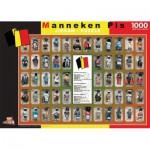 Puzzle  PuzzelMan-096 Belgique : Manneken Pis