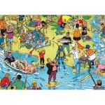 Puzzle  PuzzelMan-119 Willems Wereld : La Pêche