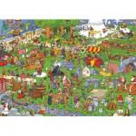 Puzzle  PuzzelMan-121 L'Europe