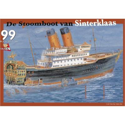 Puzzle PuzzelMan-122 Le bateau à vapeur