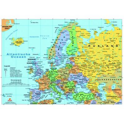 Puzzle PuzzelMan-125 Carte de l'Europe