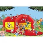 Puzzle  PuzzelMan-133 Bob et Bobette enfants : Et que ça saute !