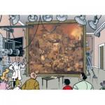 Puzzle  PuzzelMan-135 Bob et Bobette : Peinture Dulle Griet