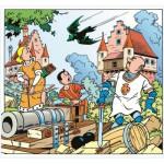 Puzzle  PuzzelMan-224 Bob et Bobette : La Chauve-Souris