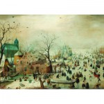 Puzzle  PuzzelMan-383 Collection Rijksmuseum Amsterdam - Hendrick Avercamp : Paysage d'hiver