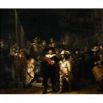 Puzzle  PuzzelMan-384 Collection Rijksmuseum Amsterdam - Rembrandt : La Ronde de Nuit