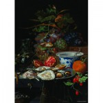 Puzzle  PuzzelMan-391 Collection Rijksmuseum Amsterdam - Mignon : Les Huitres