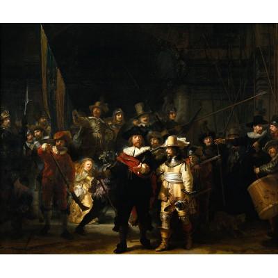 Puzzle PuzzelMan-472 Collection Rijksmuseum Amsterdam - Rembrandt : La Ronde de Nuit