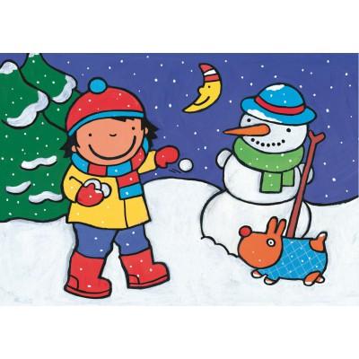 Puzzle PuzzelMan-507 Noa : A la neige